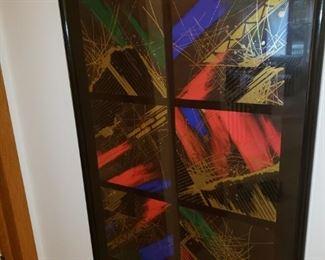 Modern framed art