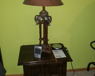 One of 2 nightstands