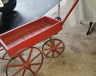 Super cute antique wagon