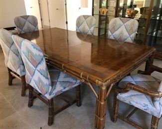 Henredon Dining Room Set and Six Chairs