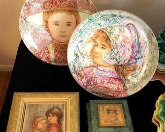 Edna Hibel collectibles