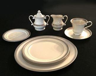 Pickard bone china, twelve place settings, made in USA