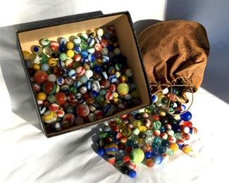 marbles circa 1920s to 1960s