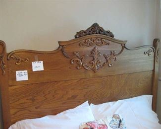 beautiful antique bed