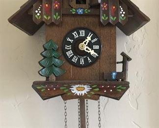 Ornate German made cuckoo clock