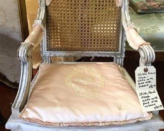 2. Children's Chair