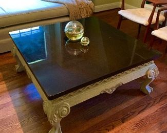 vintage coffee table.