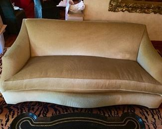 Lovely Donghia mohair couch.