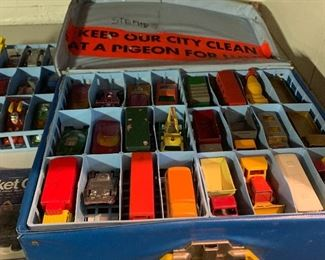 Vintage match box cars.