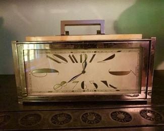 Art Deco clock.