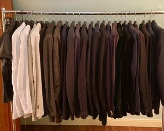 Many fine quality men's clothing M-L