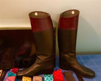 European made riding boots.