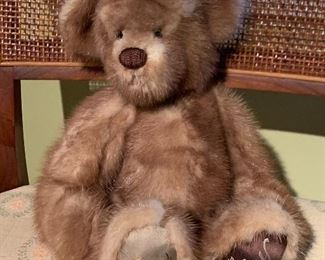 A custom made mink bear.