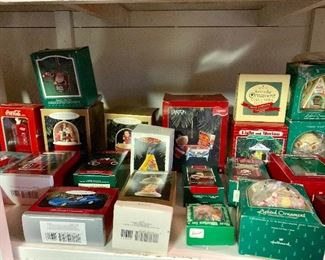 Vintage Limited addition hallmark ornaments!