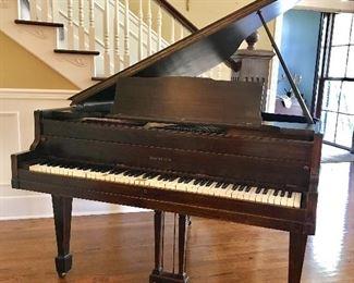 Brambach baby grand piano