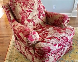 Yarborough's upholstered chair