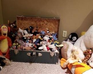 Stuffed Animals and Beanies