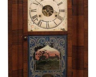 Antique Weight Driven Clock