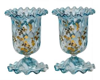 Harrach Glass Vases