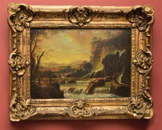 Henry Harvey Oil on Canvas