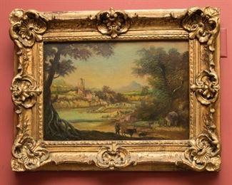 Henry Harvey Oil Painting