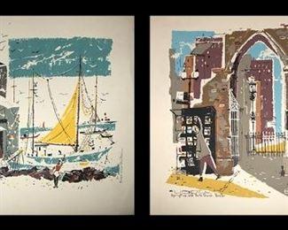 Ronald Julius Christensen Serigraphs