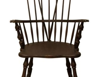 Windsor Comb Back Chair 1900s
