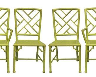 Vintage Meadowcraft Aluminum Chairs