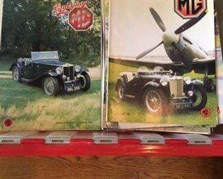 MANY ENJOYING MG MAGAZINES EARLY '90s MGB