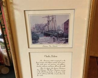 SIGNED CHARLES VICKERY