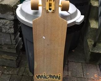 MIAMI LONGBOARD COMPANY SKATEBOARD