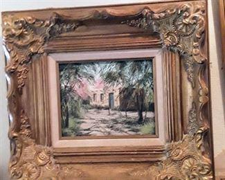 Ann Mann painting