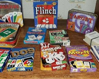 Lots of Games & cards