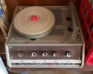 Vintage New Comb Record Player