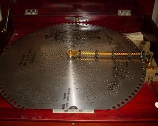 METAL RECORDS FOR SYMPHONION MACHINE