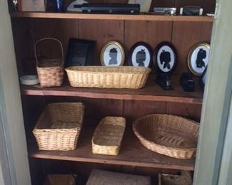Lots of baskets in this sale