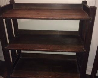 Stickley Brothers mission oak bookcase #4702