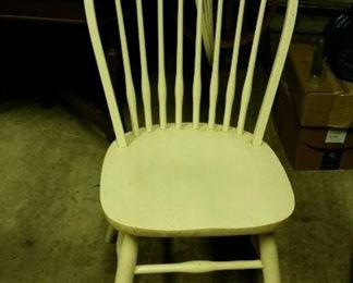Dinaire kitchen chairs (stamped Dinaire...Brooklyn NY)...6
