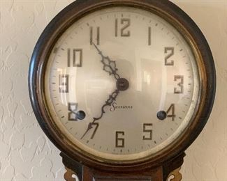 Sessions Banjo Clock As-IS