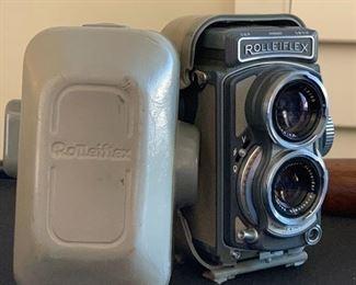 Rolleiflex 4x4 Grey Baby TLR Camera