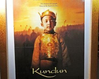 Large framed Movie Poster