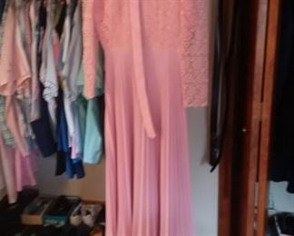 Closets full of larger Women's Sized Close (XL-1XL)