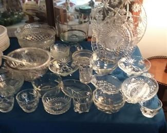Pressed Glass Pieces