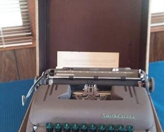 Smith Corona Typewriter in Case