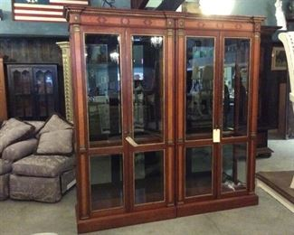 Maitland Smith display cabinet