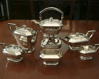 STERLING - 6 PC. COFFEE/TEA SERVICE - 1930'S