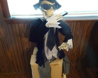 Massive collection of Halloween decorations - many one of a kind