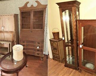curio cabinets, hutch