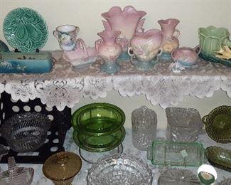 Roseville, McCoy pottery