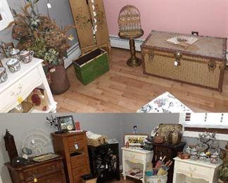 dressers, jewelry cabinets, trunk